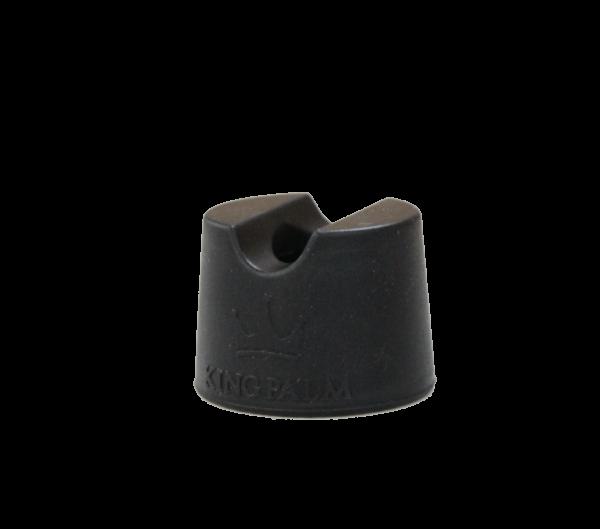 Portable Silicone Snuffer - Black-0