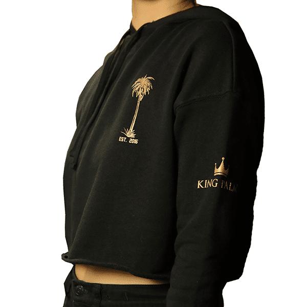 Women's Crop Hoodie -382592