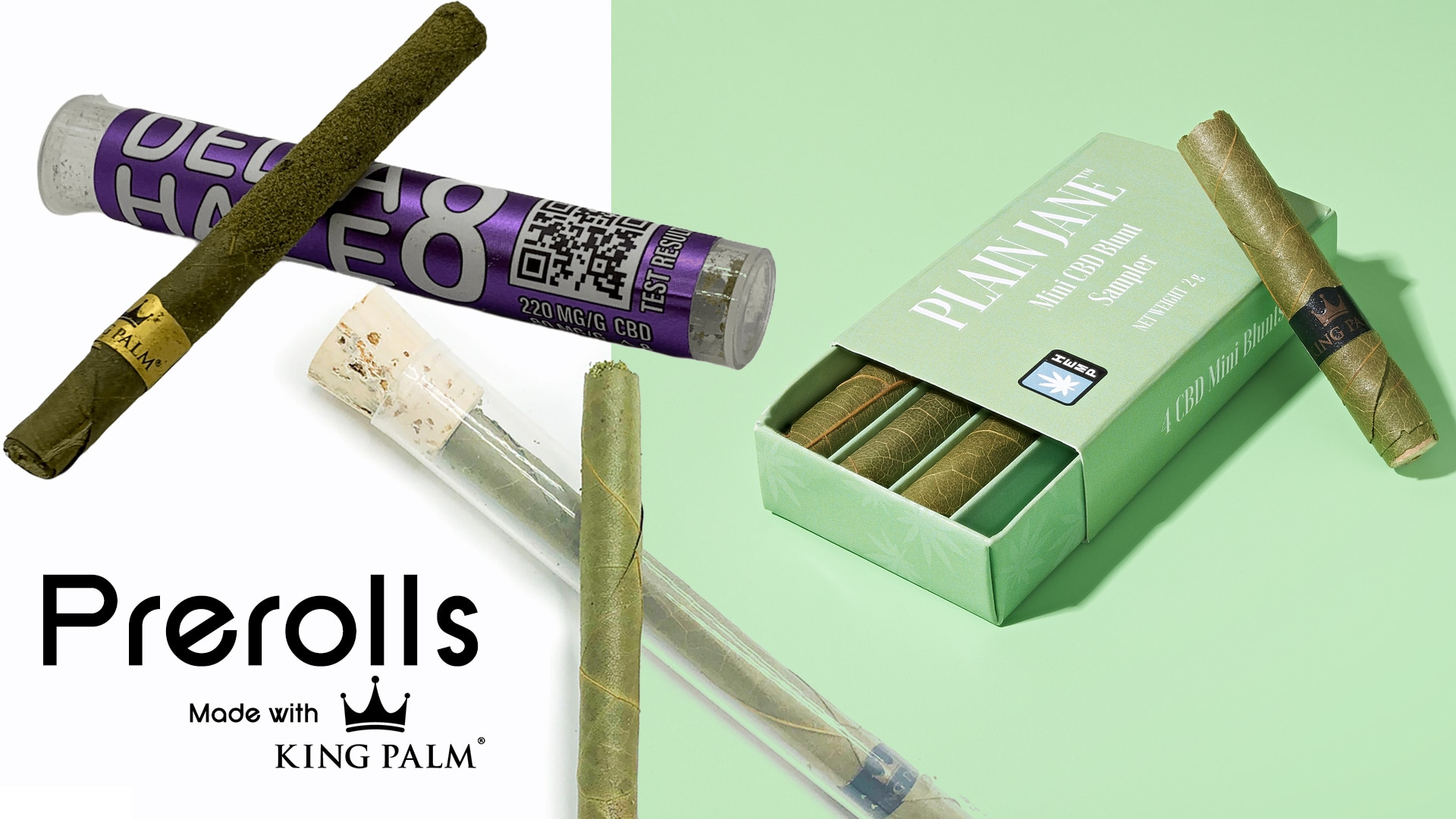 Pre-Rolls Using King Palm Leaf Cones